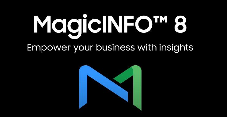 MagicInfo v8 Upgrade dringend empfohlen